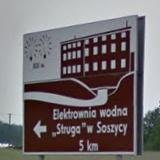 Drogowskaz do Soszycy